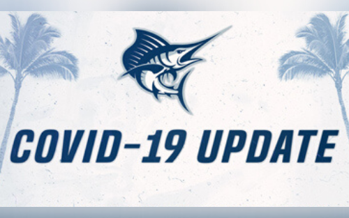Covid-19 graphic image for Sailfish Athletics