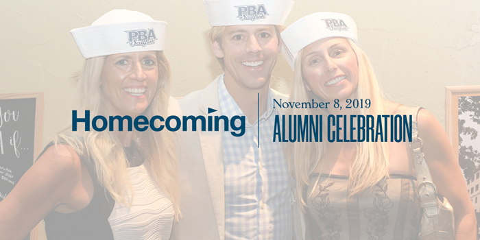 Alumni are invited to participate in homecoming activities Nov. 6-9.