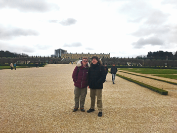 Thaddeus and Victor Cook in France