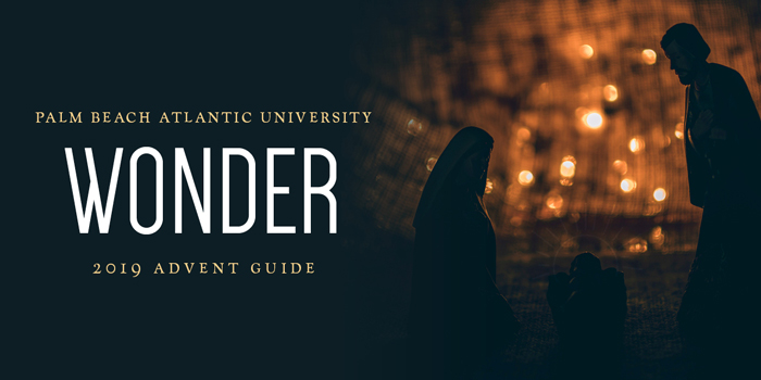 """The University's Advent guide devotional has the theme of """"Wonder."""" It will begin Dec. 1."""