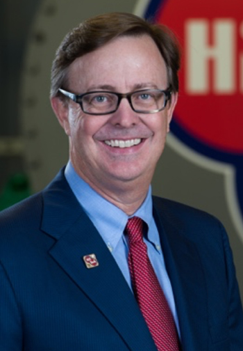 """Robert W. """"Chip"""" Lafferty is CEO of Hill York Air Conditioning Services & Energy Solutions and an American Free Enterprise Day companion medalist."""