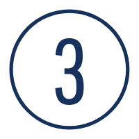 Graphic of the number 3