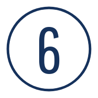 Graphic of the number 6
