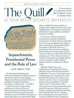 the quill cover
