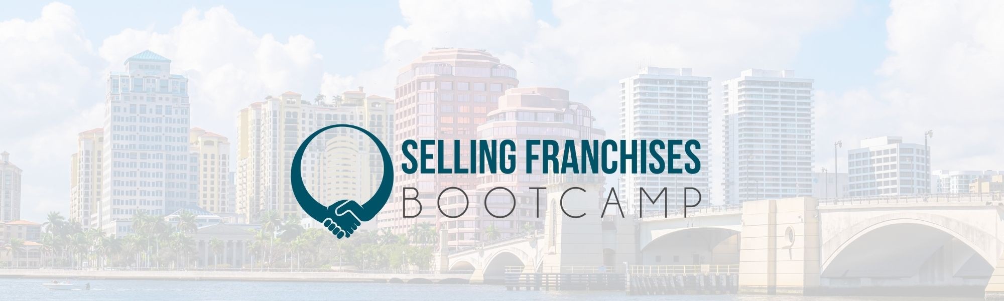 West palm beach with selling franchise bootcamp logo