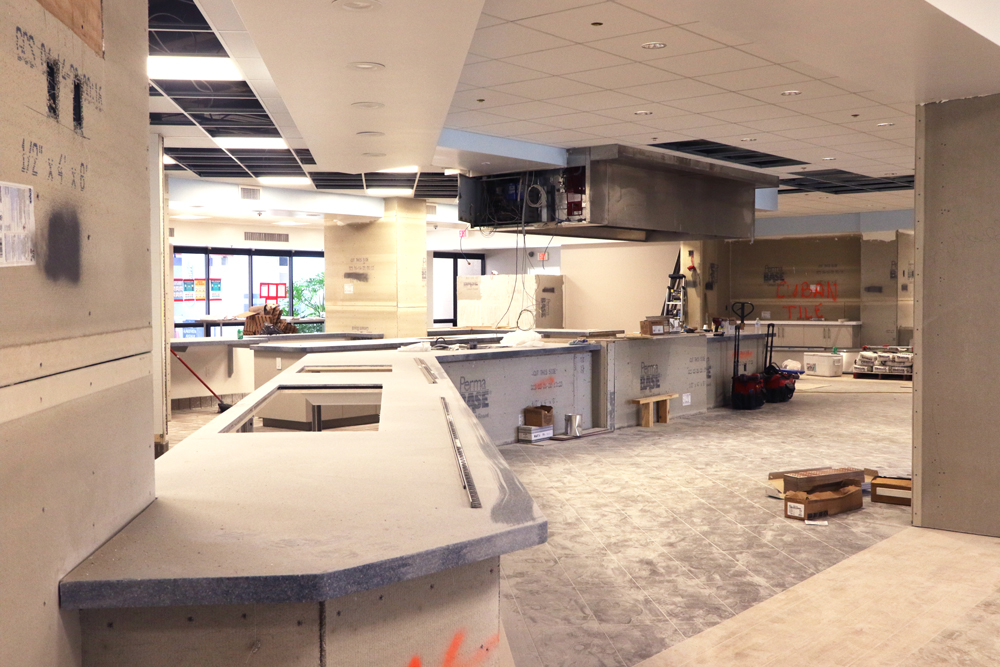 After a transformation this summer, the Fraser Dining Hall will debut in August.