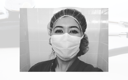 Marissa Pacheco '16 reports for duty to care for cardiac patients at her California hospital amid the COVID-19 pandemic.