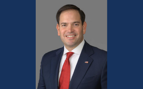 U.S. Sen. Marco Rubio will be a guest at the Titus Center for Franchising's upcoming webinar. He chairs the Senate Committee on Small Business & Entrepreneurship.