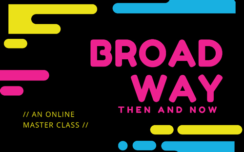 Master Teaching Artist Tracy McCoy will lead the Broadway Then and Now online masterclass this summer.
