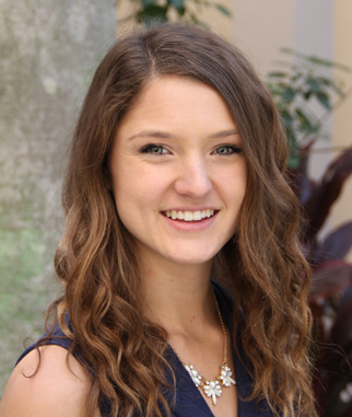 Katrina Dawe Lewandowski '16 is the board's secretary.