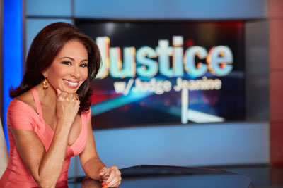 Judge Jeanine Pirro on the sat at Fox News.