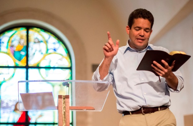 Campus pastor teaching in PBA's Master of Divinity degree program