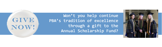Please consider giving to PBA to help us give scholarships and other opportunities to our future pharmacists.