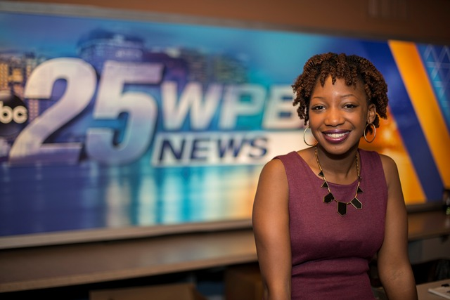 We have many internship opportunities in West Palm Beach. Journalism graduate Kayla Viaud interned at WPBF.