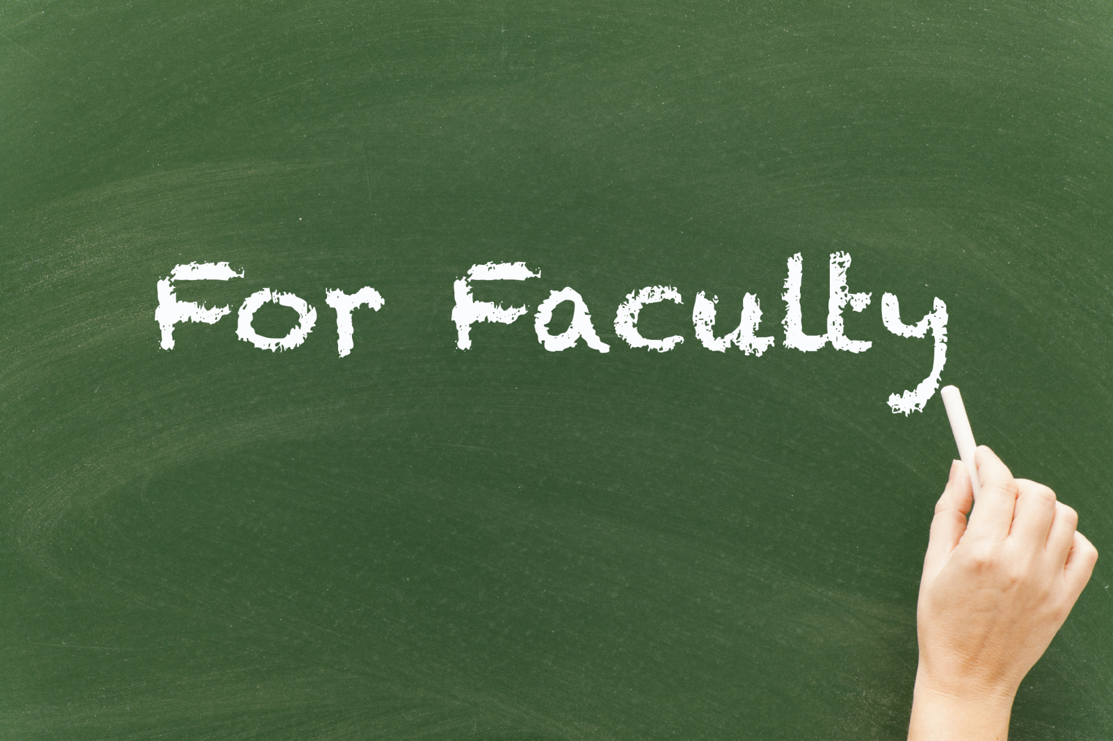 Learn about Faculty resources here.