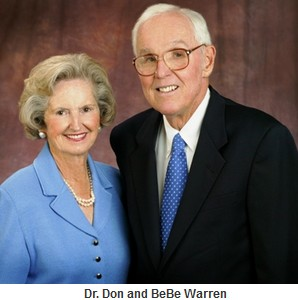 The Warren Library is named after longtime PBA supporter, the late Dr. Donald Warren, and his wife Bebe.