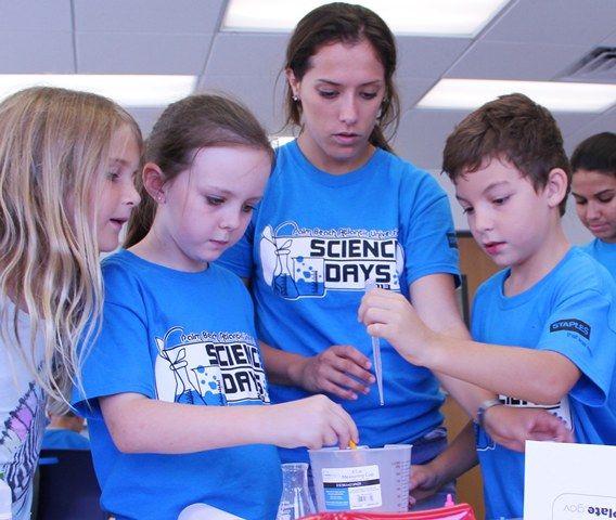 PBA also hosts plenty of science camps in the summer, including the Summer Science Institute.