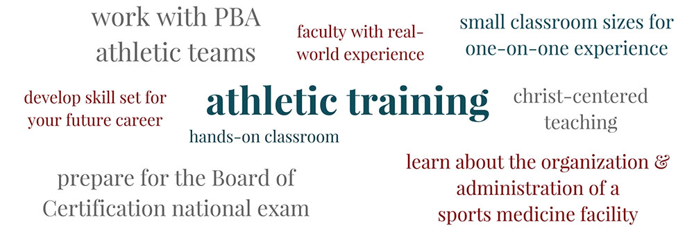 Learn about Athletic Training at PBAU