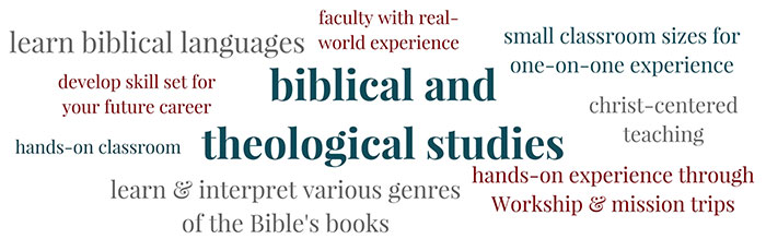 Learn about Biblical Studies at PBAU