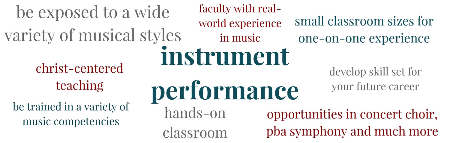 Learn about Instrument Performance at PBAU