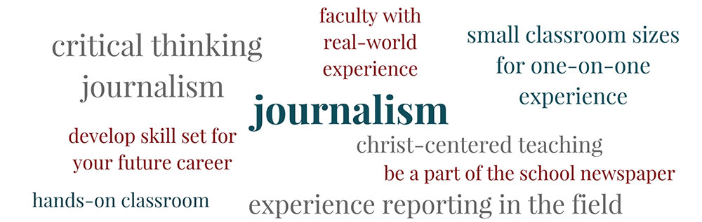 Learn about Journalism at PBAU