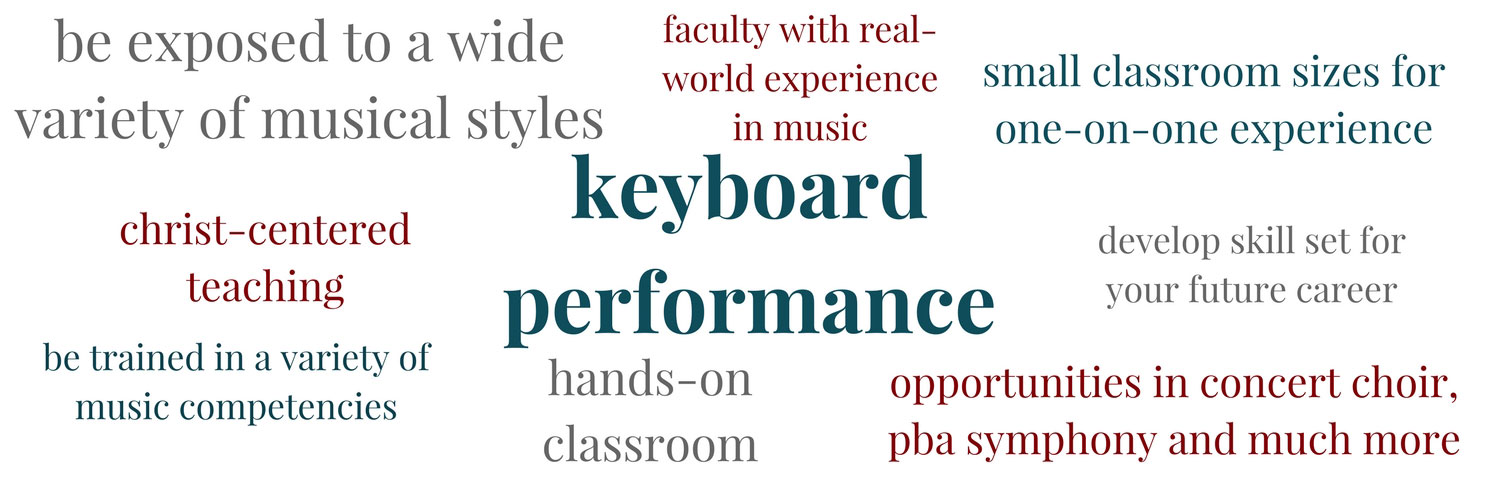 Learn about Keyboard Performance at PBAU