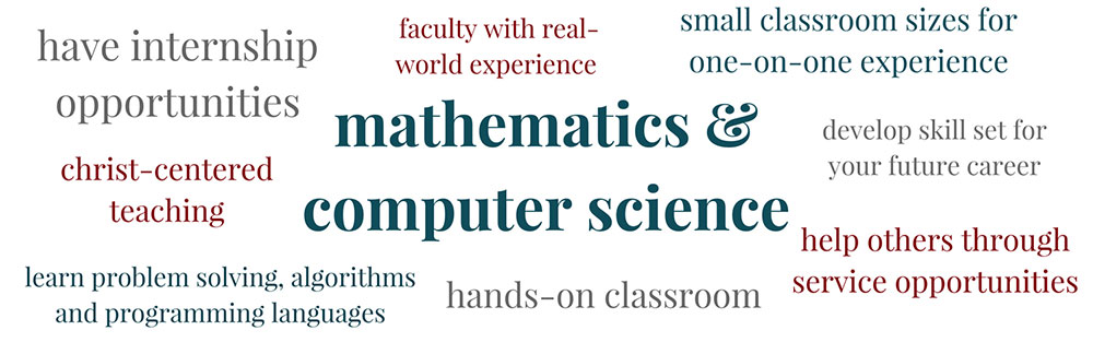 Mathematics & Computer Science at PBA