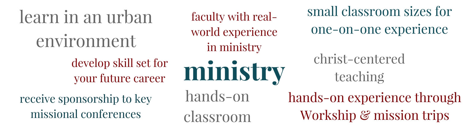 Learn about Ministry at PBAU