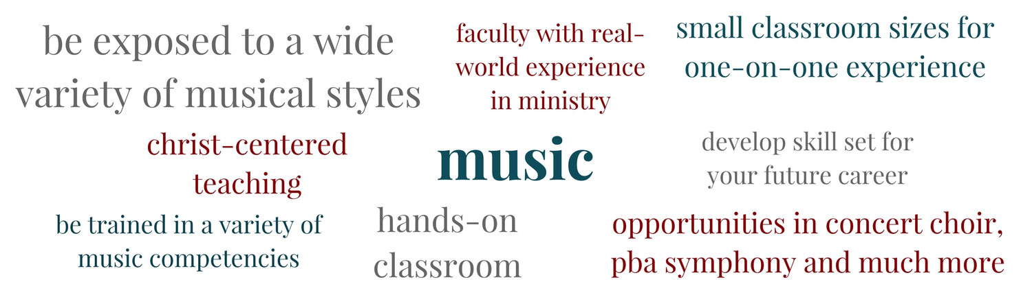 Learn about Music at PBAU