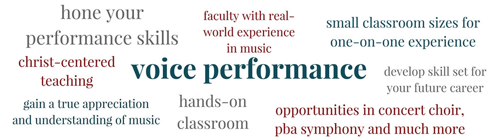 Learn about Voice Performance at PBAU